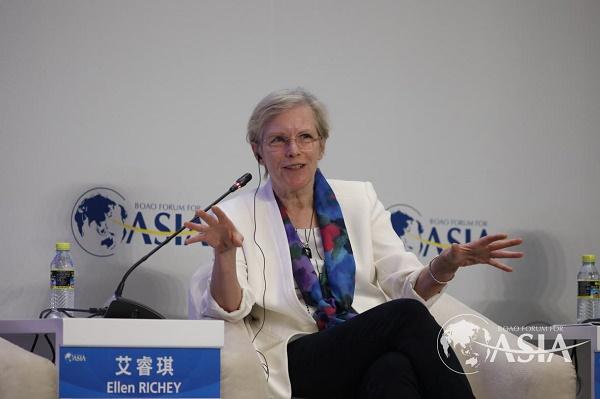 VISA副董事长艾睿琪:数字革命会把更多人融入到支付系统里来