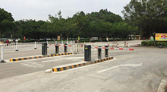 广州大夫森林公园微信智慧停车场应用案例